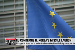EU condemns N. Korea for recent missile tests and urges restraint