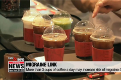 Life & Info: More than 3 cups of coffee a day may increase risk of migraine: Study