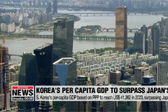 S. Korea to surpass Japan in 2023 in terms of per-capita GDP based on purchasing power: IMF