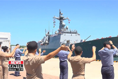 Chung Hae Unit's 30th batch departs to conduct missions in Gulf of Aden