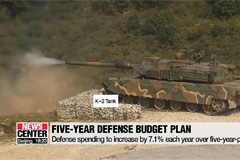 S. Korea lays out five-year defense budget plan aimed at beefing up defense capabilities against evolving missile threats