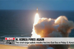 N. Korea conducts sixth launch of projectiles towards East Sea in three weeks