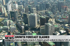 S. Korea's 2019 economic growth forecast revised down to 1.9% from 2.2%: Goldman Sachs