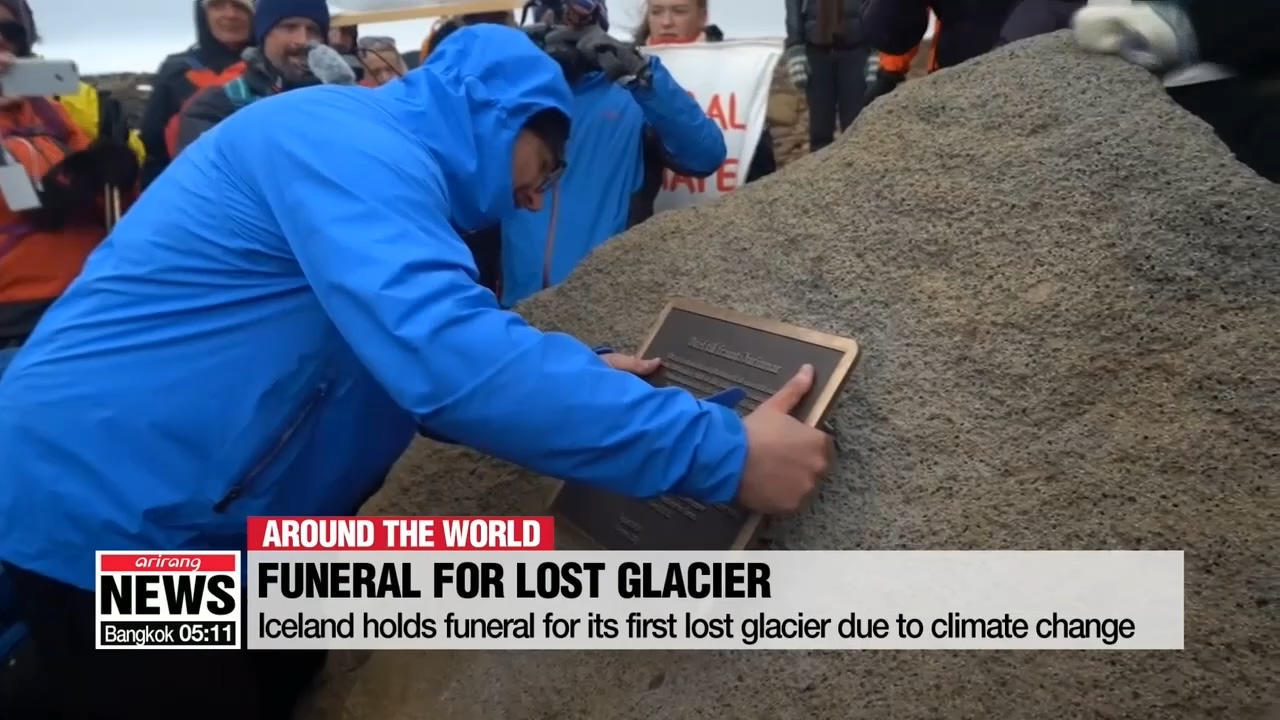 Iceland holds funeral for its first lost glacier