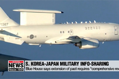 'No decision yet' on extension of S. Korea-Japan military info-sharing