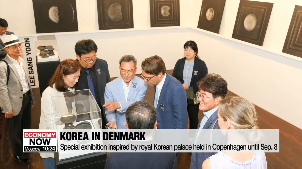 Special exhibition inspired by Korean royal palace held in Copenhagen