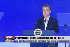 S. Korea should lessen dependence of core materials from 'specific nation', says Moon,