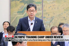 Seoul mulling whether to set up Olympic training camp in Tokyo amid radiation concerns: Sports Minister