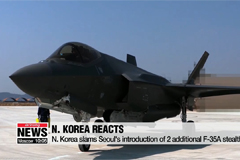 N. Korea slams Seoul's introduction of 2 additional F-35A stealth jets