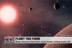 3 Earth-sized planets found 12 light years away