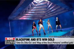 BLACKPINK and BTS have records go gold, while BTS win MTV's 2019 Hottest Summer Superstar award