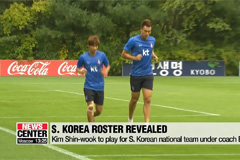 Footballer Kim Shin-wook named to S. Korean roster for World Cup qualifier