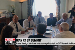 Iran's foreign minister makes surprise visit to G7 Summit in France