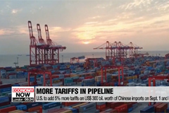 U.S. trade agency affirms Trump's extra 5% tariff hike on Chinese goods