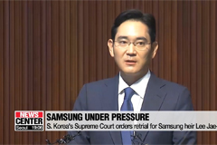 S. Korea Supreme Court orders retrial for Samsung heir