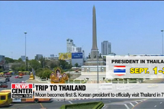 Moon to go on week-long trip to three Southeast Asian nations starting Sunday