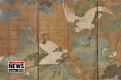 Royal folding screen kept in the U.S. for some 90 years is to be exhibited in Korea next year