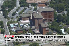 USFK respects Seoul's decision to seek early return of base ownership
