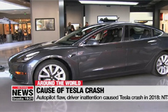 Autopilot flaw, driver inattention caused Tesla crash in 2018: NTSB