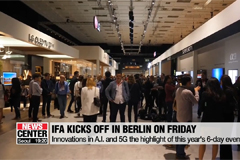 IFA, one of the world's largest tech shows, to kick off in Berlin Friday