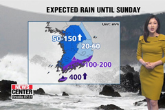 Southern sea near Jeju issued under typhoon alerts
