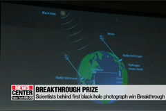 Scientists behind first blackhole photograph win $3 mil Breakthrough prize