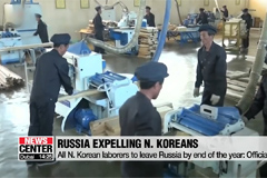 All N. Korean laborers to leave Russia by end of the year: Official