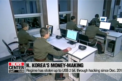 N. Korea carrying out cyberattacks and banned trade to earn currency: UN report