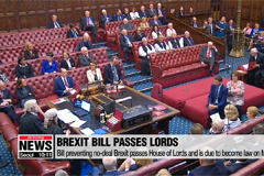 Bill to delay no-deal Brexit passes House of Lords