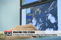 N. Korea holds emergency meeting over the approaching Typhoon Lingling
