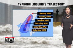 South Korea on typhoon alert