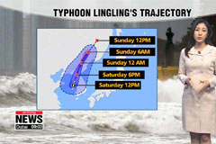 Nation under direct impact of the typhoon
