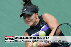 Bianca Andreescu wins U.S. open in upset victory over Serena Williams