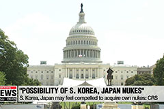 U.S. Congressional Research Service notes S. Korea, Japan may feel compelled to acquire own nuclear weapons