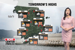 Rain across the whole country until Wednesday