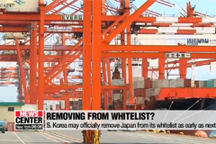 S. Korea may officially remove Japan from its whitelist as early as next week