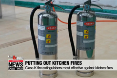 Fire expert explains proper ways to put out kitchen fires