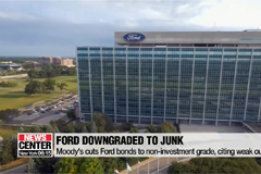 Moody's downgrades Ford bonds to junk, citing weak outlook