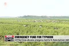 Red Cross allocates emergency fund for N. Korea typhoon recovery