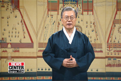 Moon wishes all Koreans a warm and peaceful Chuseok holiday