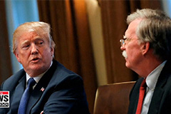 Bolton was a 'disaster' on North Korea: Trump