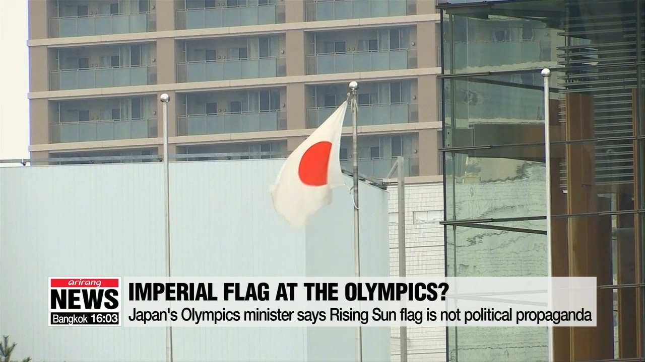 Japan's Olympics minister says Rising Sun flag is not political propaganda