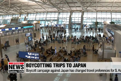 Koreans choosing not to visit Japan over Chuseok holiday amid boycott