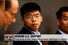 Joshua Wong urges inclusion of guarantees for Hong Kong rights in U.S.-China trade talks