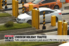 Traffic congestion to ease by 11PM Sunday