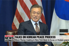 President Moon likely to focus on Korean peace process during trip to New York for UN General Assembly