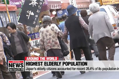 Japan's elderly citizens accounted for record 28.4% of its population in 2018