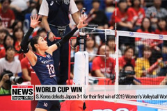 S. Korea defeats Japan 3-1 for their first win of 2019 Women's Volleyball World Cup