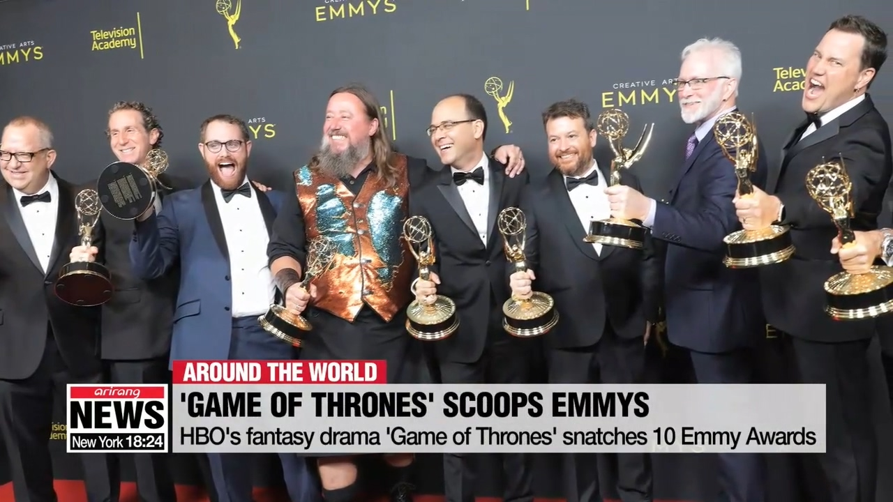 HBO's fantasy drama 'Game of Thrones' snatches 10 Emmy Awards