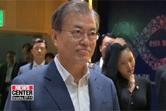 Moon promises gov't support for content industry